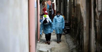 الصحة بغزة: 14 حالة وفاة و1323 إصابة جديدة بفيروس كورونا