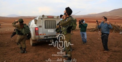 قوات الاحتلال تنفذ عمليات هدم واسعة في خربة ابزيق بالأغوار الشمالية