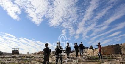 قوات الاحتلال تهدم 5 غرف زراعية جنوب بيت لحم