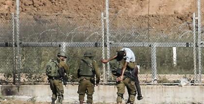 جيش الاحتلال يعتقل شابا حاول التسلل عبر حدود غزة