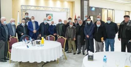 لجنة الانتخابات تعقد اجتماعا مع ممثلي الفصائل في الضفة