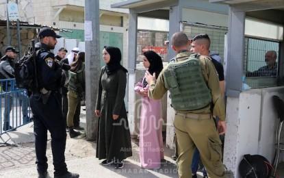 فيديو.. انتشار كثيف لقوات الاحتلال على الحواجز العسكرية في البلدة القديمة بالقدس المحتلة