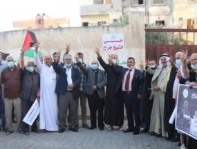 """بلدية النصيرات تطلق اسم """"حي الشيخ جراح"""" على أحد أحيائها الرئيسية"""