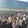 الآلاف يشاركون في وقفة احتجاجية على إجراءات الاحتلال في القدس