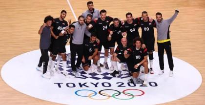 منتخب يد مصر يصنع التاريخ ويصعد لنصف نهائي الأولمبياد