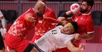 يد فرنسا تنهي مغامرة البحرين بأولمبياد طوكيو