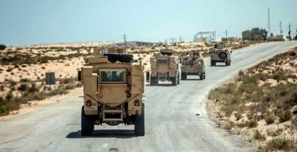 الجيش المصري يعلن استشهاد (8) من أفراده ومقتل (89) إرهابي بشمال سيناء