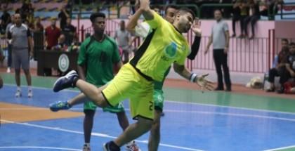 فوز ساحق لخدمات البريج في دوري جوال لكرة اليد