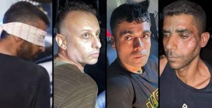 """غضب عارم """"فصائلي وشعبي"""" بعد اعتقال أحرار سجن جلبوع"""